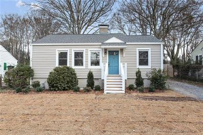 Single Family Home For Sale: 401 Alexander Circle SE