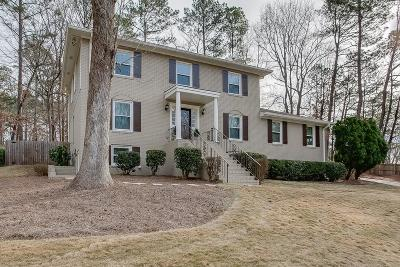 Dunwoody Single Family Home For Sale: 4963 Vernon Springs Drive