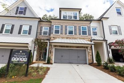 Alpharetta GA Condo/Townhouse For Sale: $552,900
