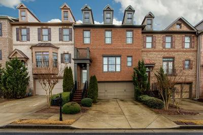 Alpharetta  Condo/Townhouse For Sale: 10740 Arlington Point