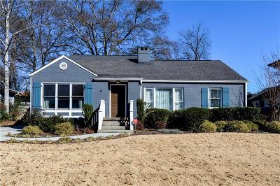 Atlanta Single Family Home For Sale: 212 Midvale Drive NE