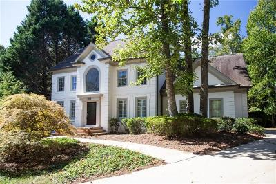 Sandy Springs Single Family Home For Sale: 7725 Wickley Way