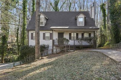 Lilburn Single Family Home For Sale: 4716 Alpine Drive SW