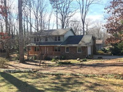 Dunwoody Single Family Home For Sale: 5194 Vernon Ridge Drive