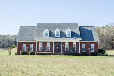 Adairsville Single Family Home For Sale: 796 Miller Ferry Road