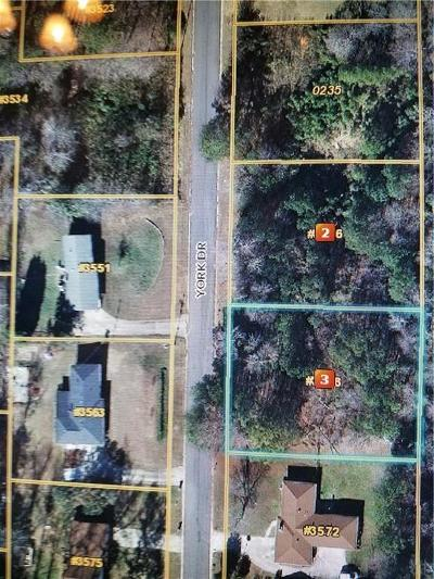 Douglas County Residential Lots & Land For Sale: 3558 York Drive