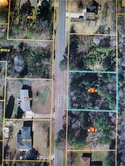 Douglas County Residential Lots & Land For Sale: 3546 York Drive