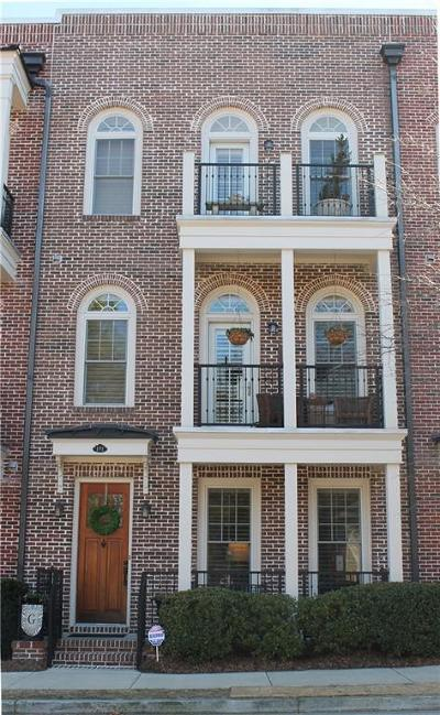 Lawrenceville Condo/Townhouse For Sale: 191 S Culver Street