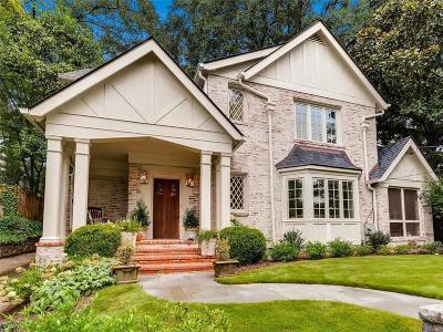 Atlanta GA Single Family Home For Sale: $1,399,000