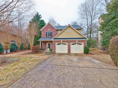 Roswell Single Family Home For Sale: 1560 River Oak Drive