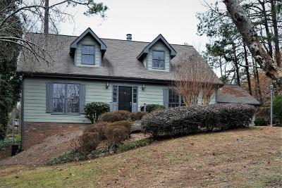 Marietta Single Family Home For Sale: 1189 Forest Brook Court