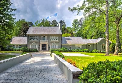 Tuxedo Park, Tuxedo Park Buckhead Single Family Home For Sale: 3700 Tuxedo Road NW