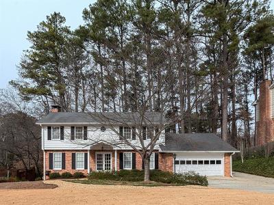 Brookhaven Single Family Home For Sale: 1774 W Nancy Creek Drive NE