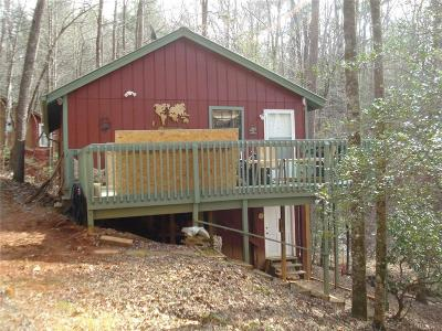 Lumpkin County Single Family Home For Sale: 1656 Syrup Mill Road