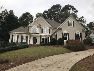 Suwanee Single Family Home For Sale: 5565 Stoneleigh Drive