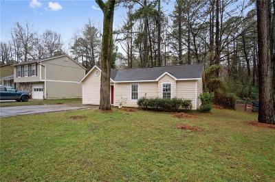 Lilburn Single Family Home For Sale: 658 Burnt Creek Drive NW