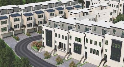 Atlanta Condo/Townhouse For Sale: 1807 Huntington Hills Lane NW