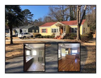 Atlanta GA Single Family Home For Sale: $450,000