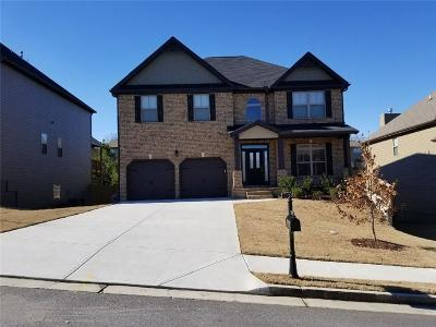 Dacula Single Family Home For Sale: 1706 Rolling View Way