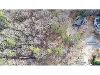 Roswell  Residential Lots & Land For Sale: Chestnut Street