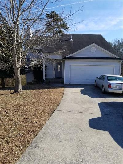Mableton GA Single Family Home For Sale: $153,900