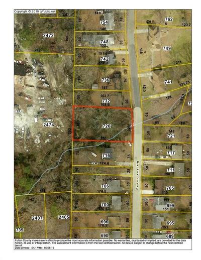 Residential Lots & Land For Sale: 726 Cedar Avenue