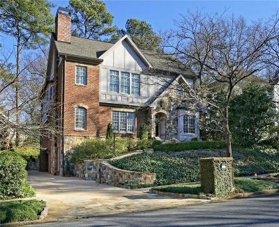 Atlanta GA Single Family Home For Sale: $1,835,000