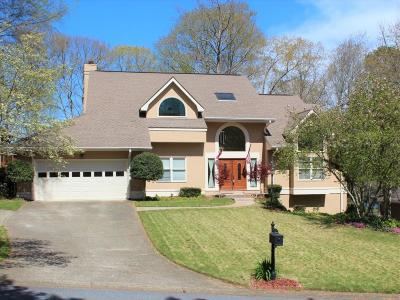 Roswell Single Family Home For Sale: 4941 Carriage Lakes Drive