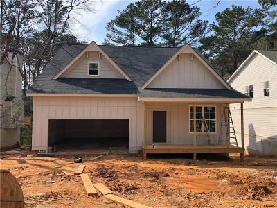 Acworth Single Family Home For Sale: 4405 Westside Drive