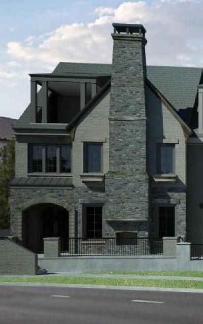 Alpharetta Condo/Townhouse For Sale: 99 Canton Street #1
