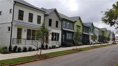 Atlanta Condo/Townhouse For Sale: 1183 Rambler Cross
