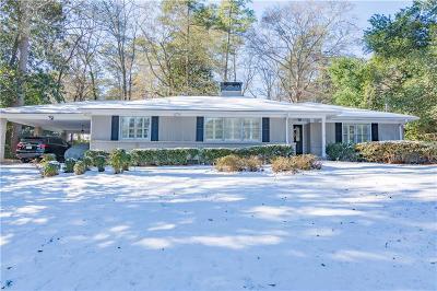 Sandy Springs Single Family Home For Sale: 4904 Lake Forrest Drive NE