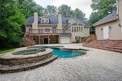 Roswell Single Family Home For Sale: 2010 Stonehedge Road