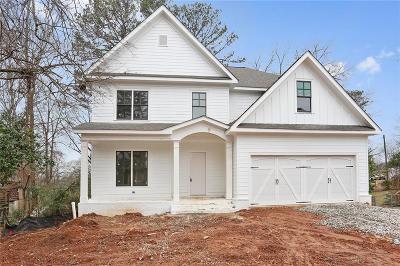 Smyrna Single Family Home For Sale: 2626 Hickory Hill Drive SE