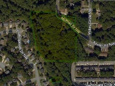Kennesaw Land/Farm Contingent-Due Diligence: 3550 McPhail Drive
