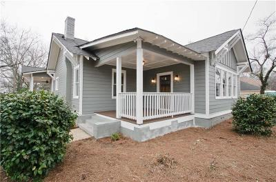 Single Family Home For Sale: 122 Moreland Avenue SE