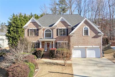 Acworth Single Family Home For Sale: 5400 Hedge Brooke Cove NW