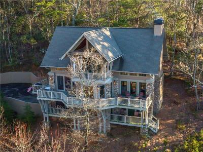 Big Canoe Single Family Home For Sale: 116 Grouse Gap Drive