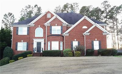 Suwanee Single Family Home For Sale: 3838 Shadow Loch Drive
