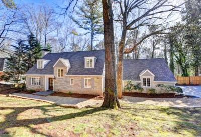 Sandy Springs Single Family Home For Sale: 34 River Park Drive