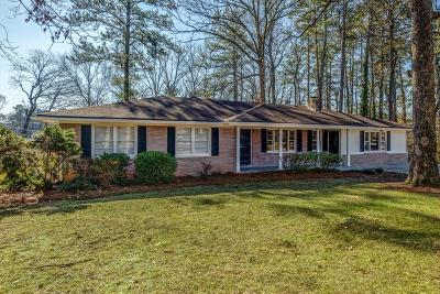 Smyrna Single Family Home For Sale: 639 Concord Road SW