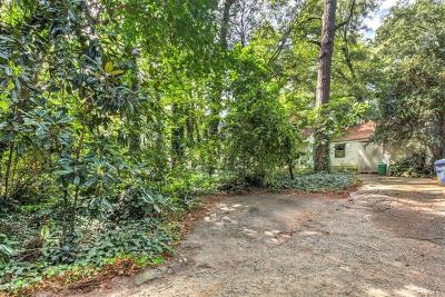 Single Family Home For Sale: 1909 Moores Mill Road NW