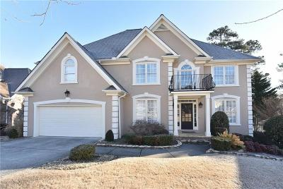 Suwanee Single Family Home For Sale: 3973 Shadow Loch Drive
