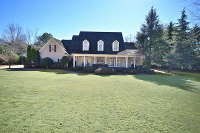 Milton Single Family Home For Sale: 105 Old Cedar Lane