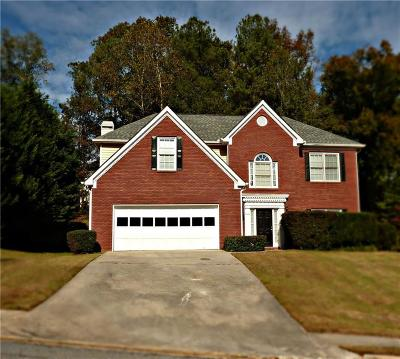 Snellville Single Family Home For Sale: 4491 Saddle Bend Trail