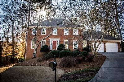 Single Family Home For Sale: 775 Bedford Oaks Drive