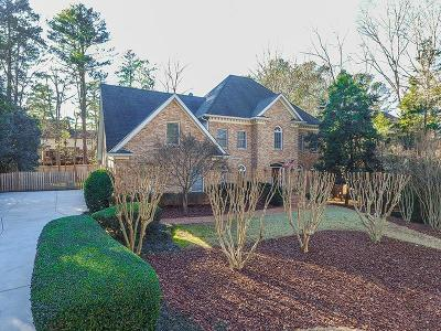 Sandy Springs Single Family Home For Sale: 7585 S Spalding Lake Drive