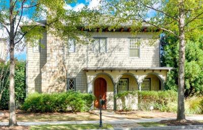 Smyrna Single Family Home For Sale: 611 Concord Lake Circle SE