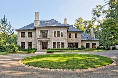 Atlanta GA Single Family Home For Sale: $9,500,000