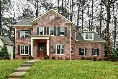Sandy Springs GA Single Family Home For Sale: $1,289,000